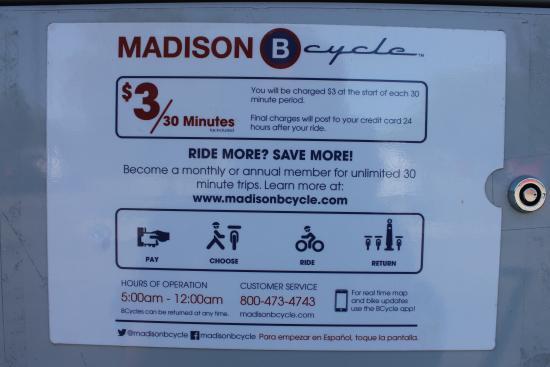 كومفرت إن ماديسون - داونتاون: Bike rentals within walking distance
