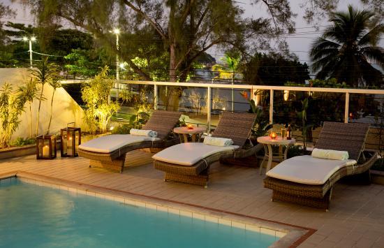 Lagos Copa Hotel : Piscina