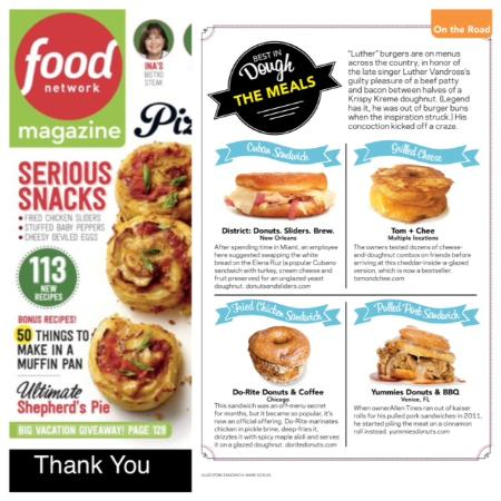 Yummies: Thank you Food Network Magazine for liking our Sticky Pig Pulled Pork Sandwich
