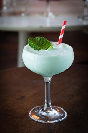 California Clipper : Grasshopper cocktail