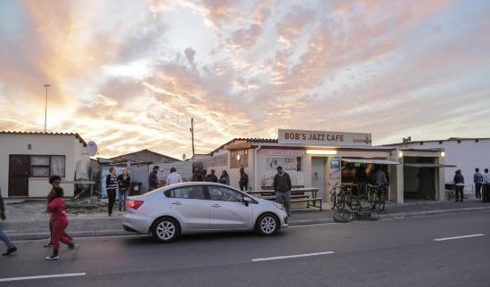 Khayelitsha, Sudáfrica: Bob's Jazz Cafe