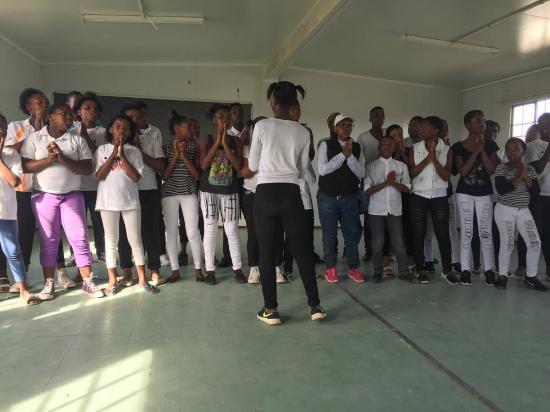 Khayelitsha, Sudáfrica: Performance at Africa Jam