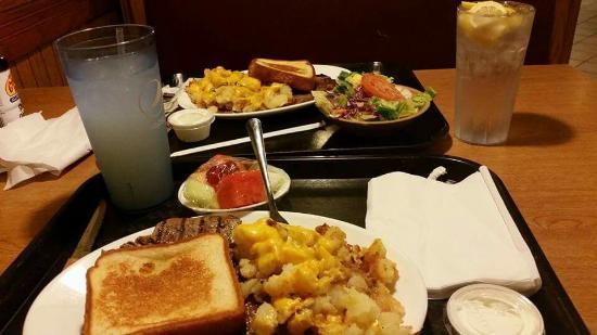 Best Steak House Porterhouse And Tip Potatoes