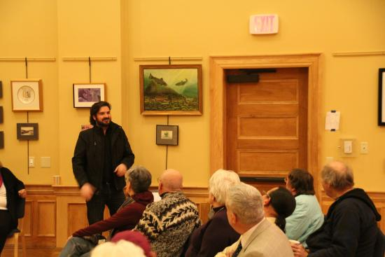 Gorham, NH: Will O'Brien at the AANNH 2016 BYOP