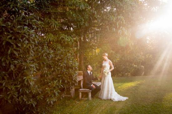 Ringtail Creek, Australia: wedding venue