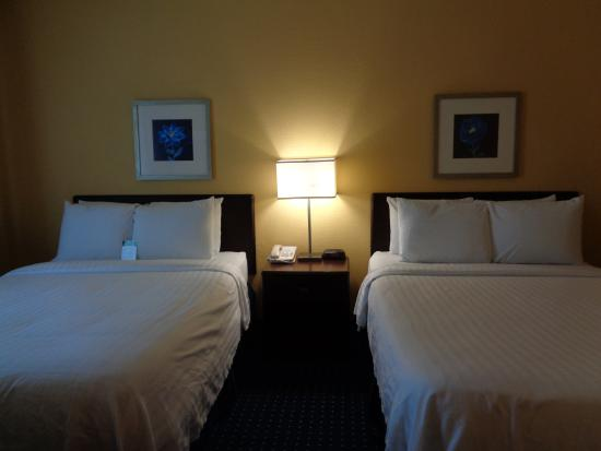 SpringHill Suites Port St. Lucie: Our Two Queen Bed Standard Room perfect for the Family