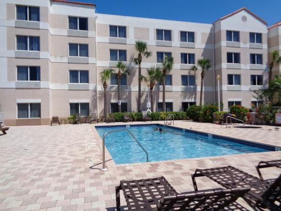 Port Saint Lucie, FL: our Out Door Heated Pool is perfect for the Summers or Winters