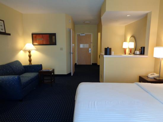 Port Saint Lucie, FL: Glance of our Full King Bed Room