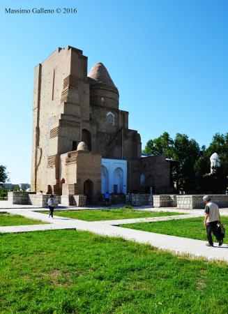 Shakhrisabz, Uzbekistan: Vista laterale