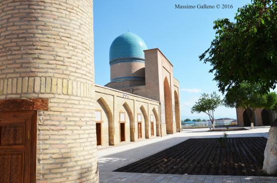 Shakhrisabz, Uzbekistan: Il cortile interno