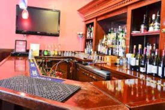 Rani Mahal: The Bar area