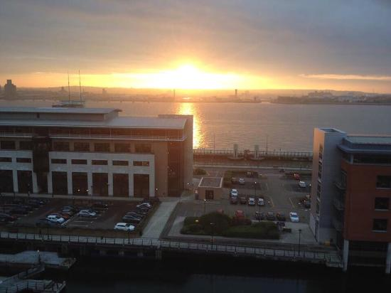 L3 Living - The Merchant Quarters, Liverpool: View from our balcony