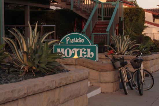 Presidio Motel: Exterior with Complimentary Beach Bicycles