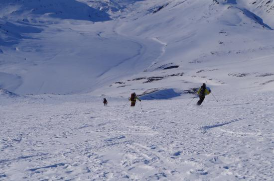 Longyearbyen, Noruega: Some of the skiing