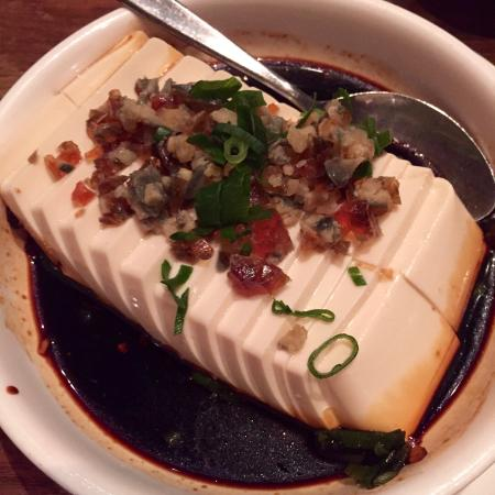tofu with preserved egg