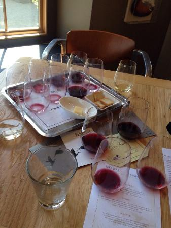 Paraduxx Winery: Another successful tasting at Paraduxx.