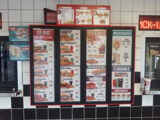 Temple Hills, MD: The usual menu
