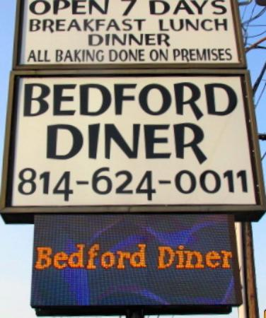 Bedford, PA: Sign