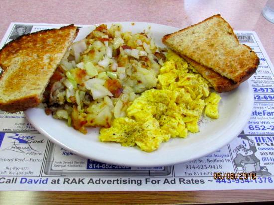 Bedford, PA: Breakfast