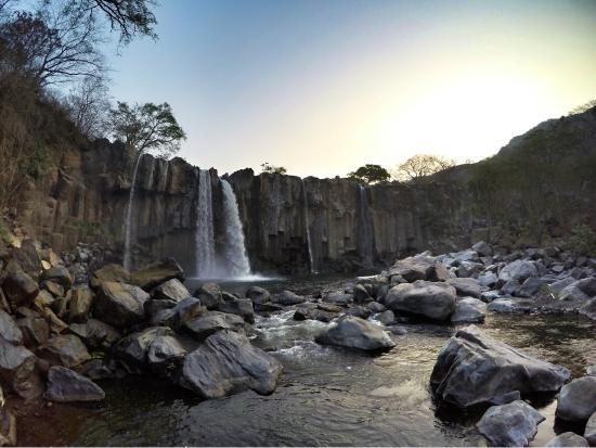 Cataratas Los Amates en Guatemala, Departamento Santa Rosa
