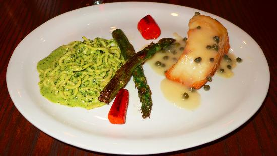 Trattoria Toscana: Sea Bass With Pesto Pasta