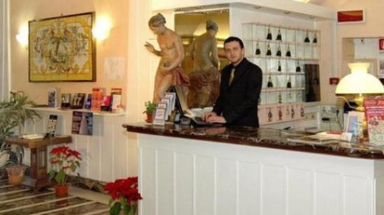 Hotel Argentina: Recepção do Hotel