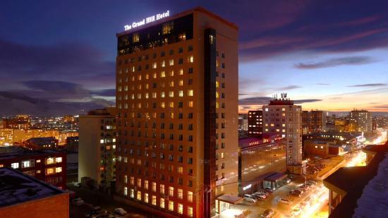 The GRAND HILL Hotel