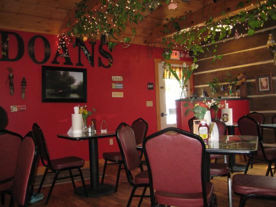 Petersburg, PA: Inside the restaurant