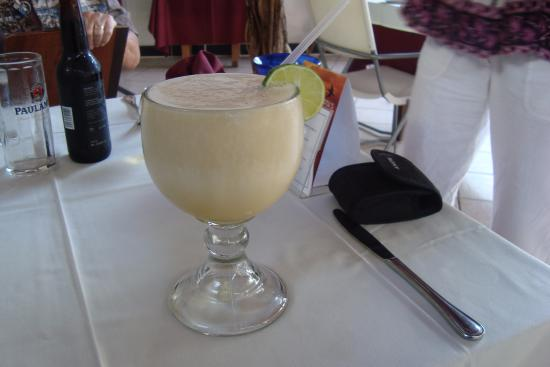 Black Forest Restaurant: passion fruit margarita