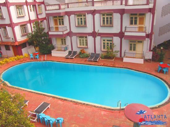 Atlanta Beach Resort Goa : Beautiful Swimming Pool