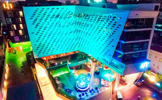LiT BANGKOK Hotel: LiT landscape from the bird's eyes view