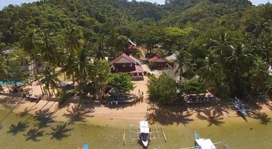Stunning Republic Beach Resort Aerial View