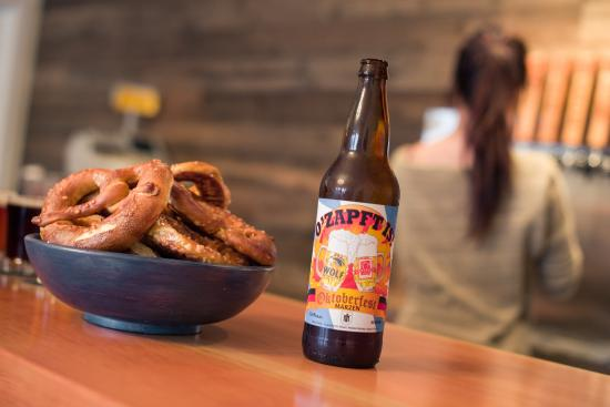 Nanaimo, Canada: Beer & Pretzels.. the perfect combo!