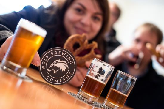 Nanaimo, Canadá: Brewery tour