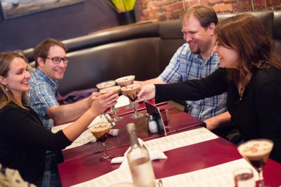 The incredible Nanaimo Bar martini!