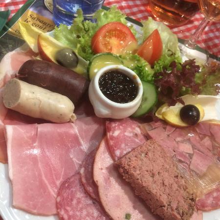 La Roche-en-Ardenne, Bélgica: Assiette du Chef