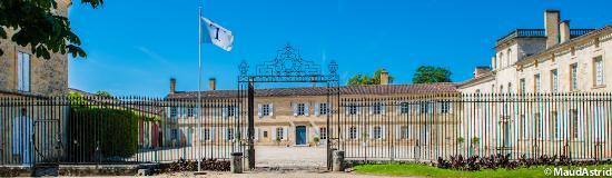 Portets, Frankrike: Le Cour d'Honneur du Château