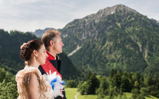 Hotel Prinz-Luitpold-Bad: Bergblick vom Balkon