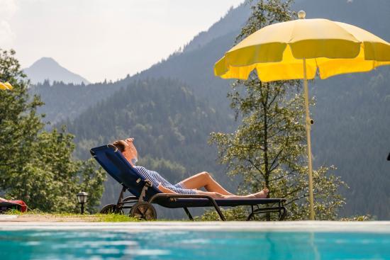 Hotel Prinz-Luitpold-Bad: Freibad mit Panorama