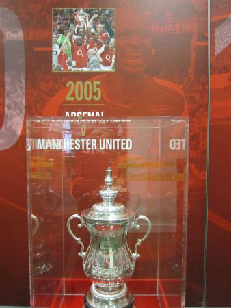 Arsenal Stadium Tours Museum Trophy Room Meant A Lot To The Fans I