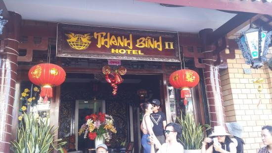 Thanh Binh II Hotel: Photo from outside of the hotel