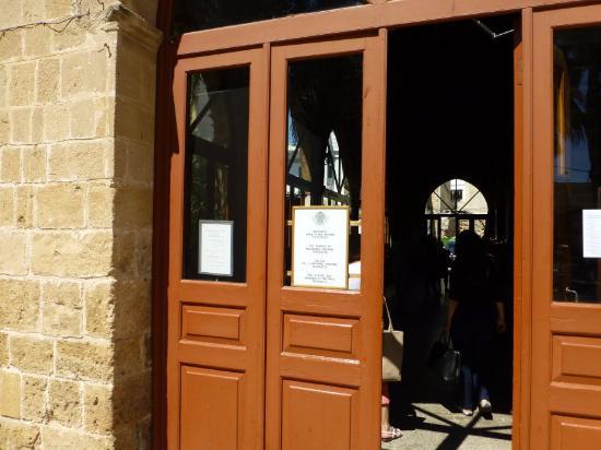 Church of Archangel Michael Trypiotis: Main Entrance