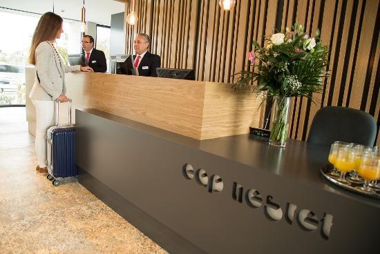 Hotel Cap Negret : Hall Recepcion