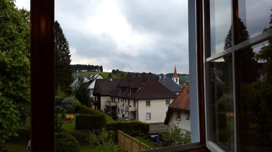 Berghotel Schiller: View from the window