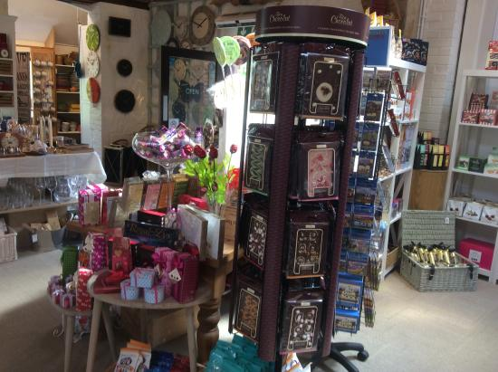 Grayshott Pottery: Speciality chocolates