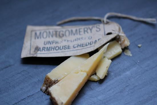 North Cadbury, UK: A tiny sample of our World famous Cheddar from the hear of Somerset