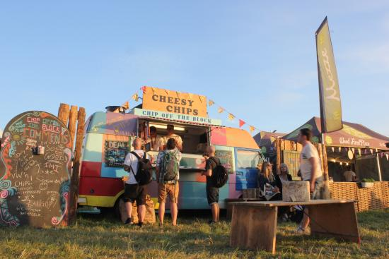 North Cadbury, UK: Find us at Glastonbury in the Williams Green field