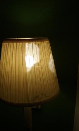 Quality Inn: Is this the new lamp shade design?