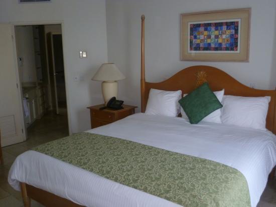 Mullet Bay, Saint-Martin : bedroom