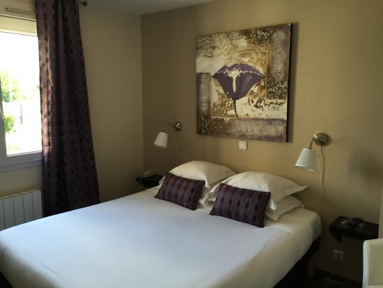Hotel Restaurant Baryton : chambre double